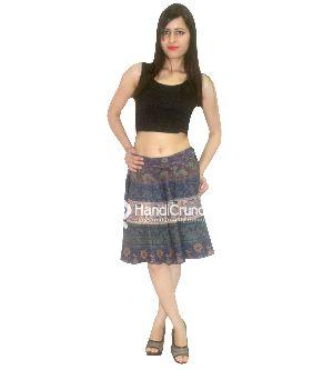 Jaipuri Printed Short Skirt