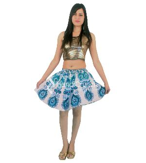 Mandala Short Skirt