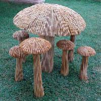 Sandstone Garden Ornament (mushroom)
