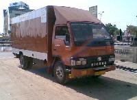 Explosive Van Body Front View
