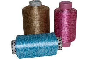 Space Dyed (multi Colour) Polyester Yarn