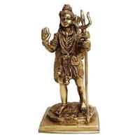Metal Lord Shiva Statue