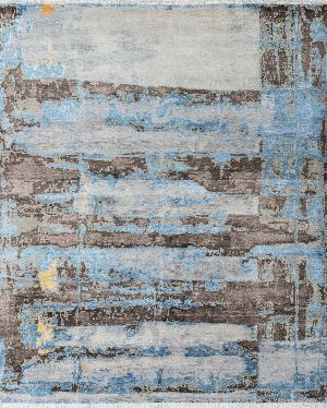 Home Hand Knotted Best Design Wool Bamboo Silk Rugs