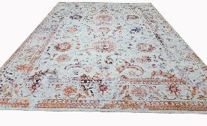 Colourful Traditional Wool Silk Rugs