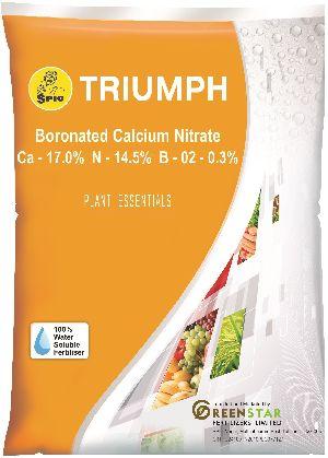 Spic Triumph: Boronated Calcium Nitrate