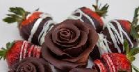 Rose Strawberry Chocolate
