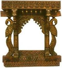designer wooden jharokha