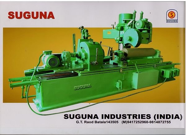 Roll Grinding And Grooving Machine