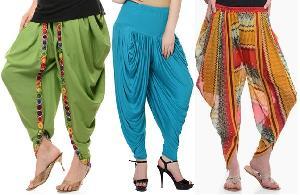 Viscose Ladies Dhoti Salwar
