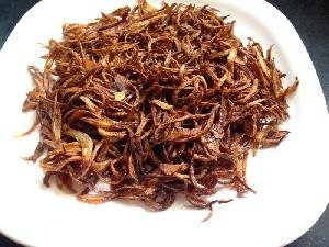 White Fried Onion Flakes