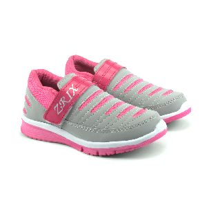 Ladies Grey & Pink Shoes