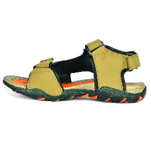 SDZ 101 Mens Mouse & Orange Sandals