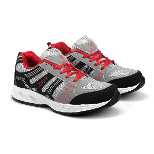 Zx-16 Black & Red Shoes