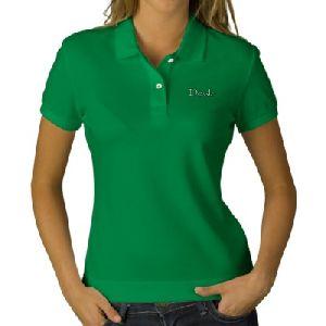 Womens Polo Neck T-shirts