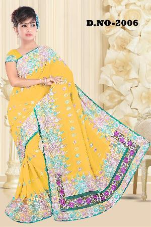 Aarya Ethnics Georgette Embroidered Saree_dn-2006-b