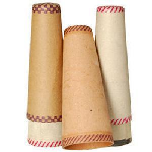 Printed Textile Paper Cones