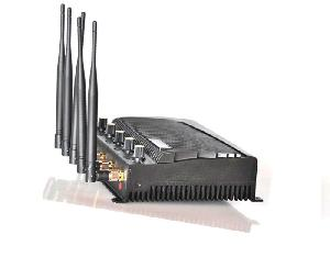 High Range Mobile Phone Network Jammer Modulator 5 Antenna