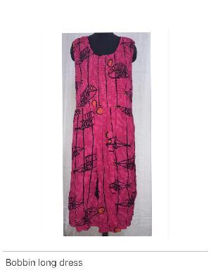 Long Bobbin Dresses