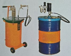 Hand Operated Grease Refilling Dispenser