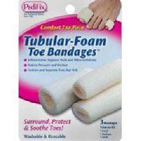 Tubular Foam Toe bandages