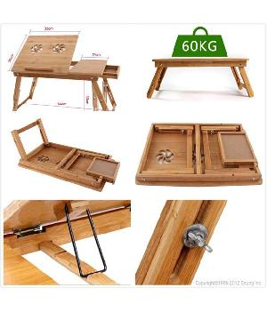 Wooden Portable Laptop Study Table