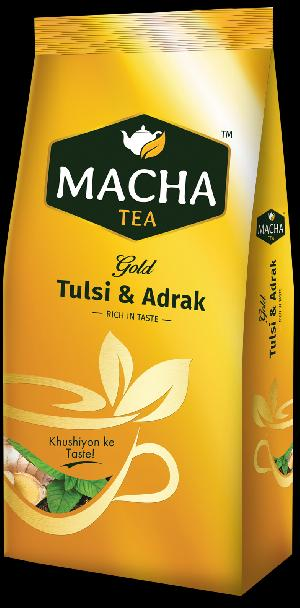 Macha Gold Tulsi Adrak Tea