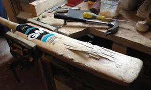 Cricket Bat Refurbishing.