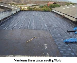 Membrane Sheet Waterproofing Work