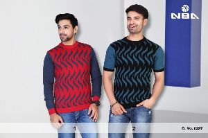 P 100 Mens Round Neck Sweater