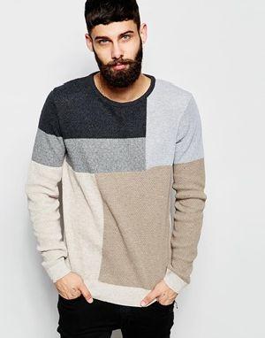 P112 Mens Round Neck Sweater