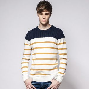 P99 Mens Round Neck Sweater