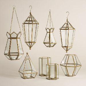 Brass Hanging Lantern