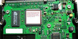 Hard Drive Circuit Board