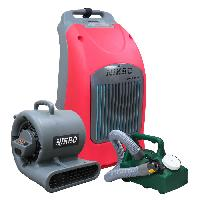 Hepa-filtered Portable Air Scrubbers
