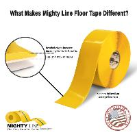 Industrial-strength Floor Marking Tape