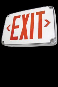 Weatherproof LED Exit Sign