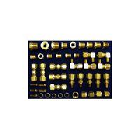 Brass DOT Air Brake Tubing Compression Kit