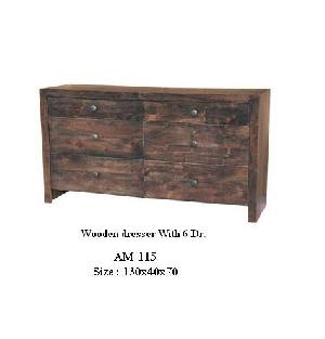 Srt-01 6 Drawer Dresser