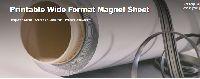 Printable Wide Format Magnet Sheet