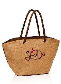 Jute Basket Tote Bags