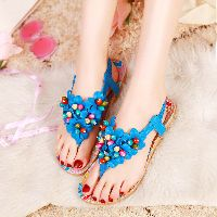 Women shoes Summer Bohemia Flower Sandals