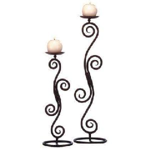 Metal Candle Stand 06