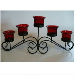 Metal Candle Stand 18