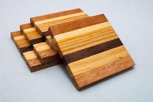 Wooden Tea Coaster 07