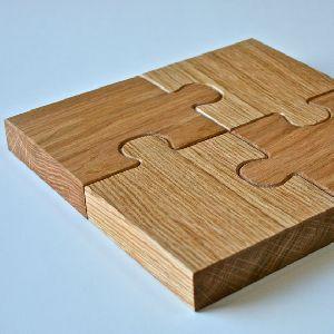 Wooden Tea Coaster 08