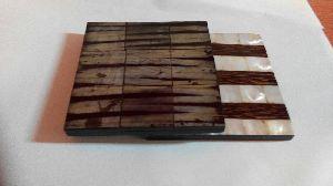 Wooden Tea Coaster 12