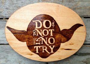 Wooden Tea Coaster 18