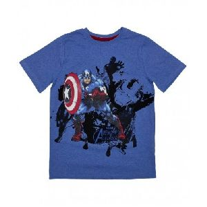 Boys Round Neck T- Shirt