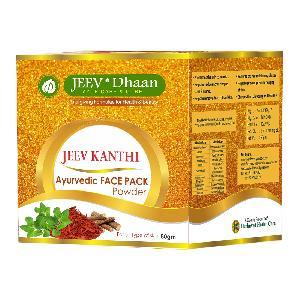Jeev-dhaan Jeev Kanthi Ayurvedic Face Pack