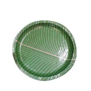 12 Inch Banana Leaf Paper Plates  sc 1 st  Exporters India & 12 Inch Banana Leaf Paper Plates u0026 7 Inch Silver Paper Dona Manufacturer